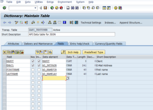 Create JSON Data API in SAP to integrate with C# application